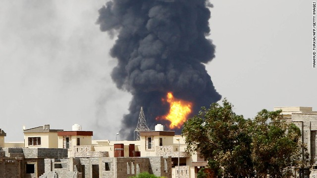 Libya 'is not complete chaos ... yet'