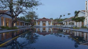 The 32 original buildings that now house the all-suite Amantaka once formed Luang Prabang\'s provincial hospital.