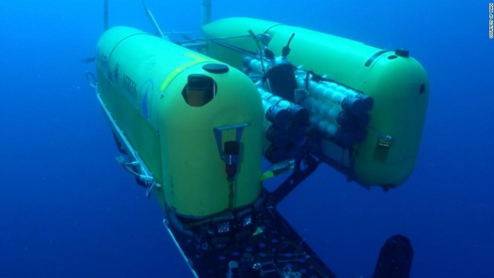 Vehículo subacuático autónomo Nereus