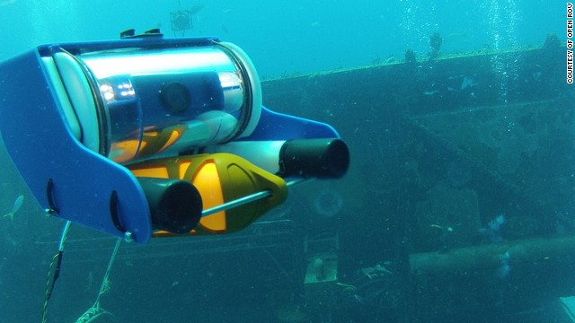 The <a href='http://openrov.com/' target='_blank'>Open ROV</a> project gives enthusiasts the chance to operate their own undersea robot for $849, using an open source design.