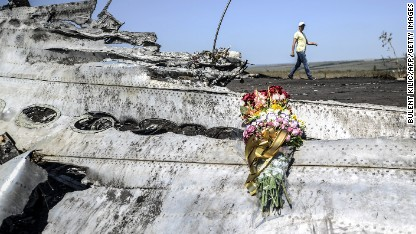 Ukraine: 'Rebels put mines near MH17'
