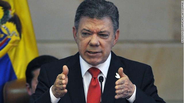 Santos advierte que diálogos podrían terminar si siguen acciones terroristas de la guerrilla