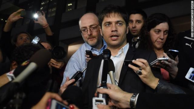 """Kicillof: Hablar de default en Argentina es una """"pavada atómica"""""""