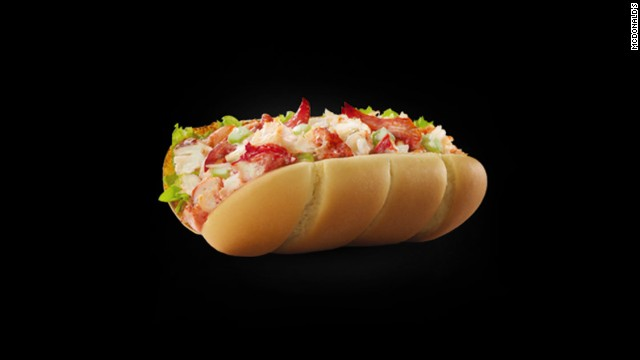 This McLobster roll adds a touch of class to the McDonald's menu in Canada -- a summer specialty.