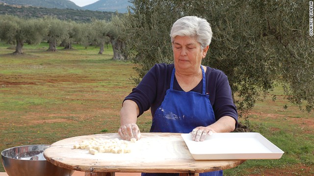 Frangiksos Karelas converted his family farm, Eumelia, into an agro tourism venture that includes a range of holistic activities, including yoga retreats, mountain biking, olive picking and wine making.