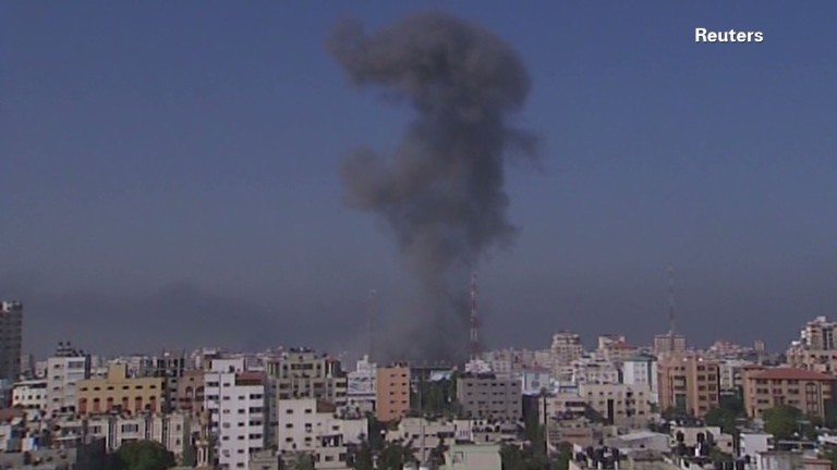U.N. school shelled in Gaza...