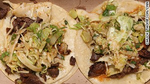 Kogi\'s Korean barbecue tacos are just one part of L.A.\'s exploding food truck scene.