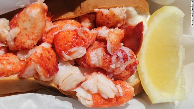 You can now buy everything from acai bowls to greasy burgers to Maine lobster rolls (pictured, from Cousins Maine Lobster) from food trucks.