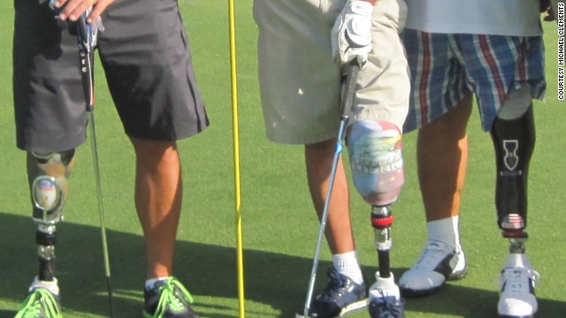 Veterans with disabilities have taken to golf as