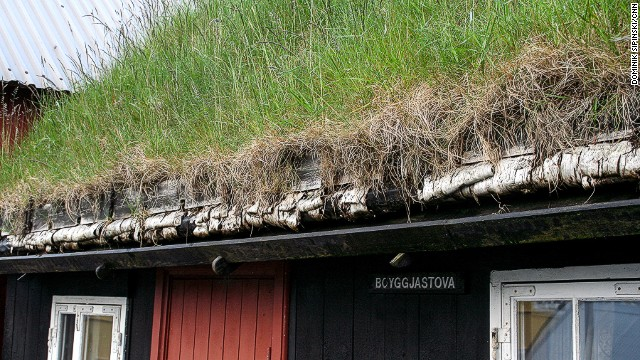 Modern architecture can be found on the Faroe Islands, but many locals still opt for grass roofs.