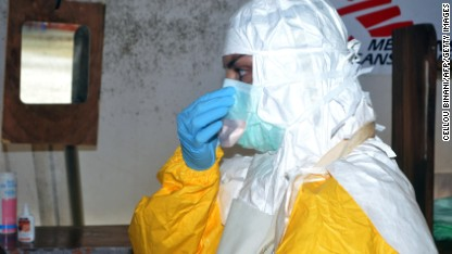 Ebola: Volunteers evacuated