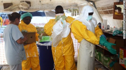 Ebola: Officials force locals to comply