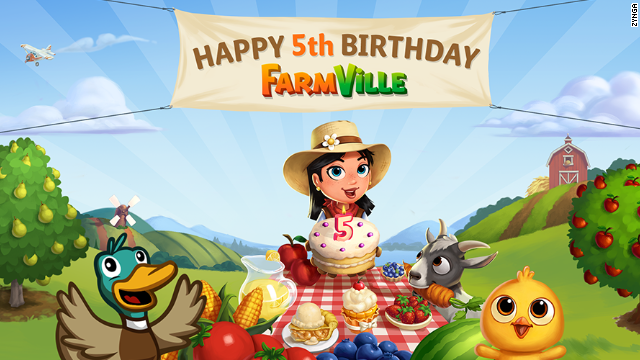 Cinco años despues, millones siguen cosechando en 'Farmville'