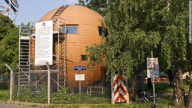 Austrian artist Edwin Lipburger declared independence when his spherical house displeased authorities, refused to pay taxes and began printing his own stamps.