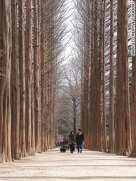 """President Kang Woo-hyon's """"culturally independent"""" eco-nation in South Korea attracts more than 2 million visitors a year."""