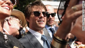 Tom Cruise's glorious day at the races