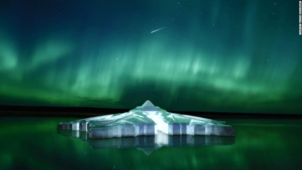 La ventana con vista a la aurora boreal