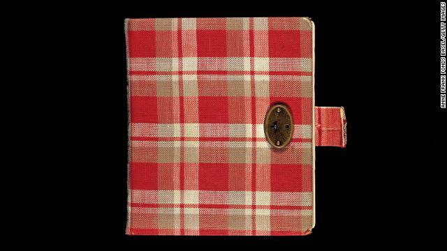"For her 13th birthday, Anne Frank received a red plaid diary, her first journal. She brought it with her into hiding and began writing in it in 1942. After her death, her father, Otto Frank, edited and compiled the diary. It was published in the Netherlands in 1947 as ""The Secret Annex. Diary Letters From June 14, 1942, to August 1, 1944."""