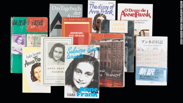 """The Diary of Anne Frank"" has been translated into more than 70 languages in more than 60 nations."