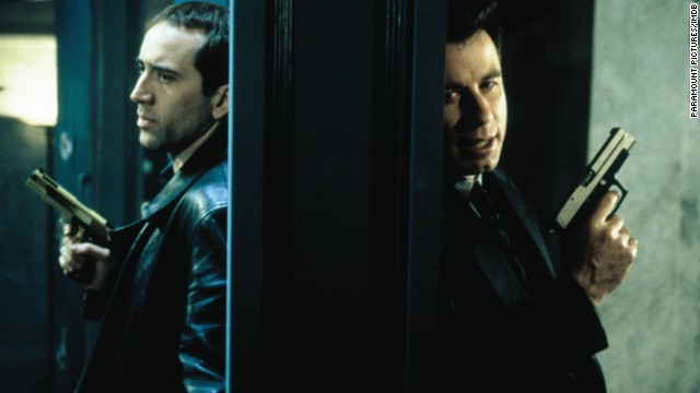 "<strong>""Face/Off"" (1997):</strong> So much action, so much gunplay and not a little plastic surgery are at the center of this John Woo-directed film starring Nicolas Cage and John Travolta. <strong>(Netflix) </strong>"