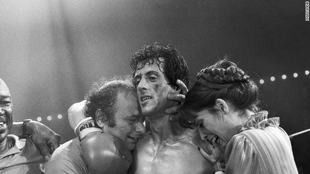 "<strong>All five ""Rocky"" films (1976-90):</strong> Settle in for a marathon of these films about a boxing champion (Sylvester Stallone) with a heart of gold. <strong>(Netflix and Amazon)</strong>"