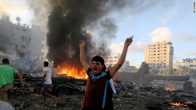 Gaza Officials: 1,432 People Killed