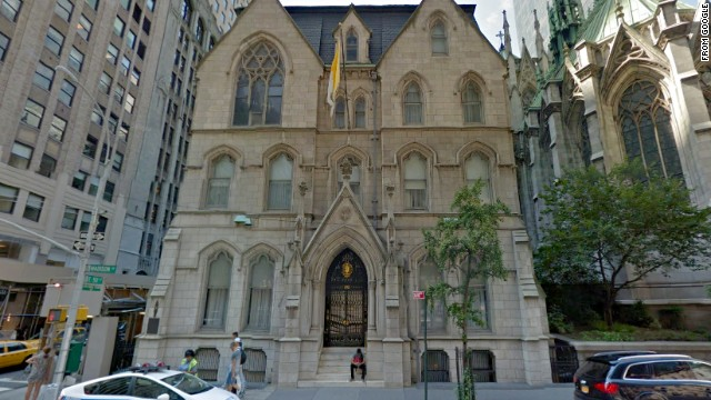 The lavish homes of American archbishops