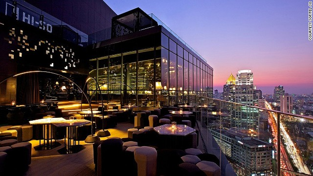 Whether in rooftop bars (like Sofitel So's HISO bar, pictured), dance clubs or trendy pubs, there's quality adventure in Bangkok.