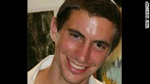 This undated photo shows Israeli Army 2nd. Lt. Hadar Goldin, 23 from Kfar Saba, Israel.