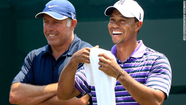 Tiger Woods and his former caddie Steve Williams enjoyed a very fruitful partnership. Woods won 13 of his 14 majors with the Kiwi on his bag and hasn't claimed another since they parted ways in 2011.
