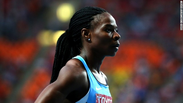 Botswana' s Amantle Montsho is a leading 400m runner with World and Commonwealth titles to her name.