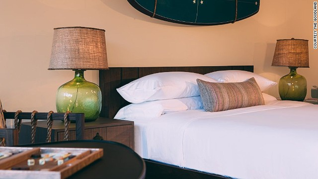 With a September 4 grand opening scheduled, the 158-room, 1960s-inspired Goodlands hotel outside of Santa Barbara bridges a casual surf lodge with a modern hotel.