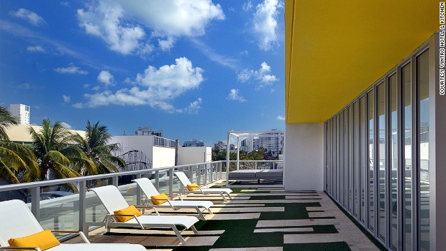 In Miami Beach, stylish Vintro Hotel & Kitchen opened in July. Rooms start from less than $200 per night.