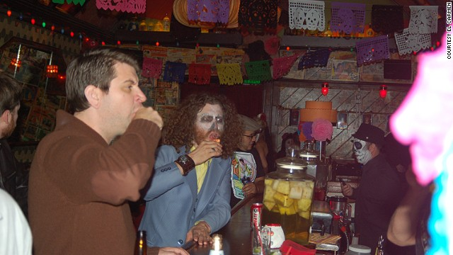 The cantina-style El Carmen has a huge selection of tequilas -- more than 400 at last count.