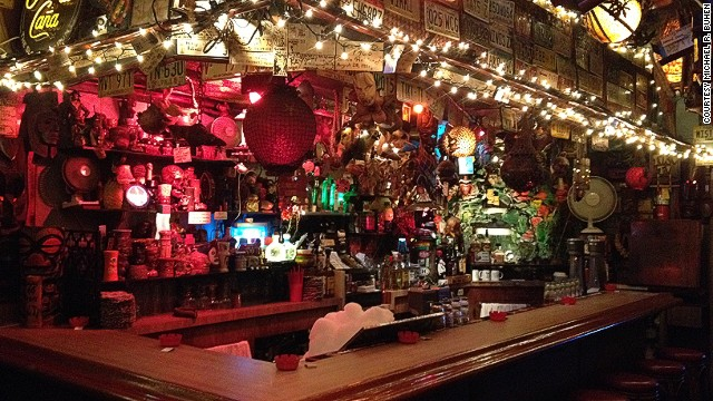 Tiki-Ti is crammed with an ever-growing inventory of South Pacific bric-a-brac -- regulars keep bringing in stuff for the walls.