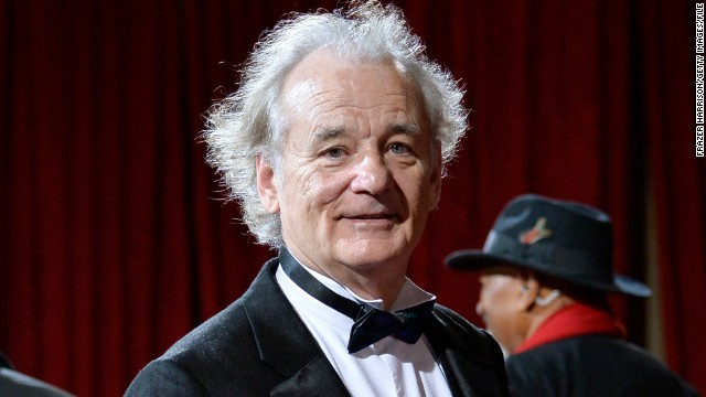 Bill Murray attends the Oscars in March 2014.