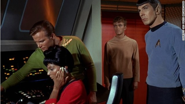 "In 1968, Nichols and William Shatner -- otherwise known as Captain Kirk -- locked lips in what is believed to be U.S. television's first interracial kiss. But it very nearly didn't go ahead. ""They had to take it to the New York guys who ran the whole network, and they even said 'don't get your hopes up' to the director and writer,"" said Nichols."