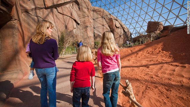 Omaha's Henry Doorly Zoo claims TripAdvisor's top spot among zoos. It also claims to have the world's largest indoor desert, recreating Australian, African and North American landscapes beneath its 13-story-tall glass dome.