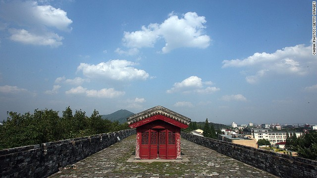 China has been working to restore additional Ming City Wall sections in the hopes of getting it added to the UNESCO World Heritage list in 2015.
