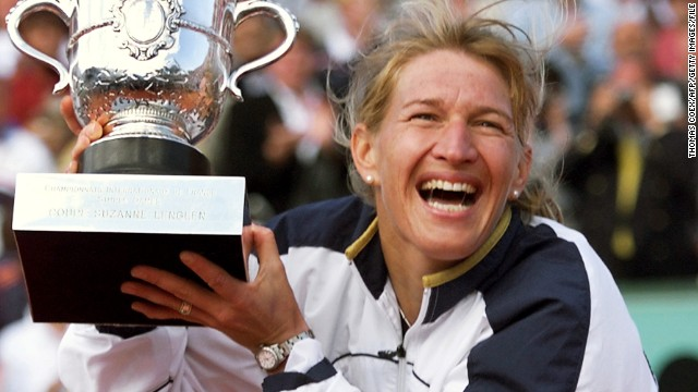 The best of the best is Steffi Graf, whose 377 weeks at the top is more than any male or female tennis player -- and 186 of those were consecutive for Germany's 22-time grand slam champion.