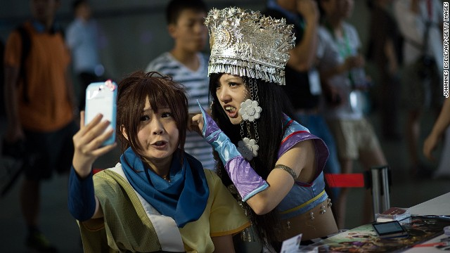 ChinaJoy means three things: games, crowds and cosplay.