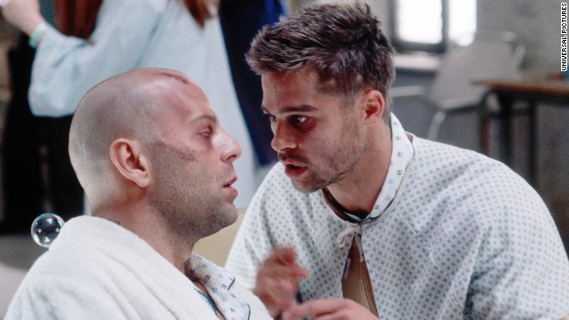 "In 1995's ""12 Monkeys,"" based in part on the French short ""La Jetee,"" a convict from 2035 is sent back in time to determine the source of a virus that has devastated the planet. The movie ends with a last-minute realization of who is behind the outbreak."