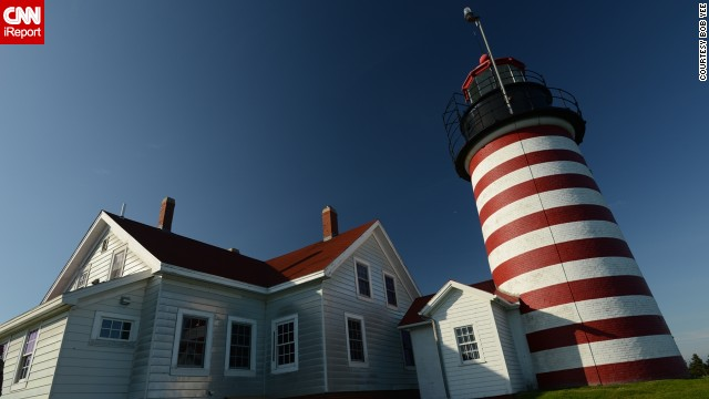"<a href='http://ireport.cnn.com/docs/DOC-1158222'>Bob Yee</a> found this Lubec, Maine lighthouse to be particularly photogenic. He said it was a ""classic lighthouse building and tower on a scenic plot without distracting backgrounds or artifacts. Very easy to shoot well."""