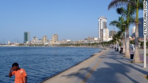 Luanda\'s bayside has had a $350 million facelift.
