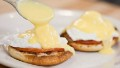 PJ-friendly eggs Benedict