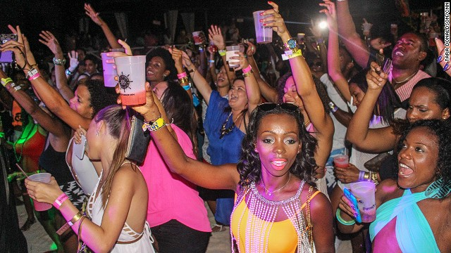 Cohobblopot at the island's Kensington Oval sees local soca artists perform the season's songs. Beachfront fetes such as Booze Premium at the Boatyard are fueled on rum punch.