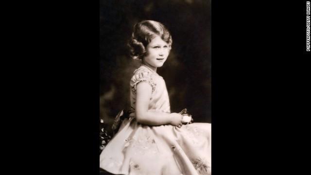 Princess Elizabeth circa 1932.