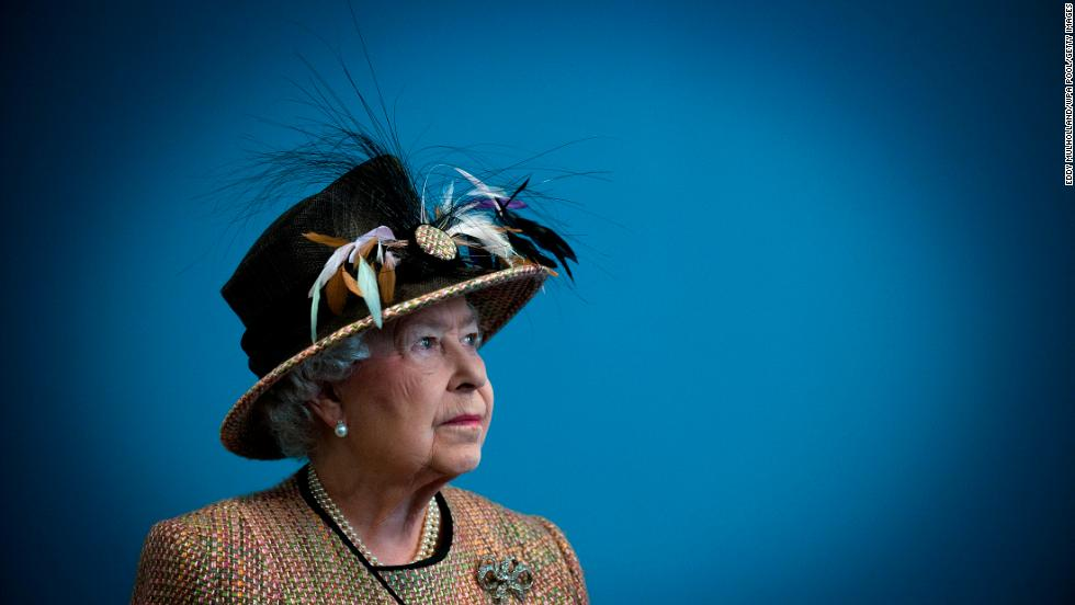 Britain's Queen Elizabeth II is seen at the Somerset House in London in February 2011. Click through the gallery to see more photos from her life.