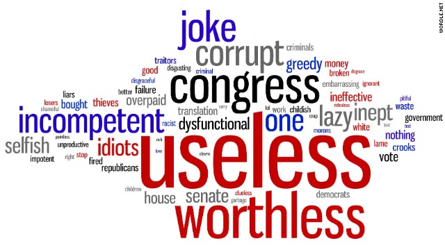 Congress defined: 'Useless,' 'worthless,' a 'joke'