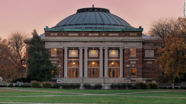 The University of Illinois at Urbana-Champaign rounds out the top 5.